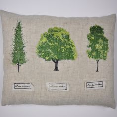 Botanical Trees Boudoir Cushion Cover