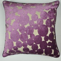 Hayes Spots & Circles Cushion Cover - Purple