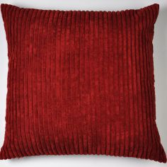 Jumbo Cord Cushion Cover - Burgundy Red