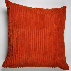 Jumbo Cord Cushion Cover - Spice Orange