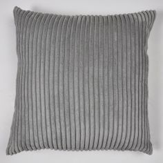 Jumbo Cord Cushion Cover - Slate Grey
