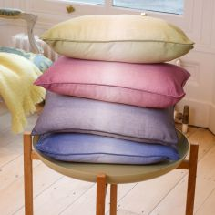 Ombre Watercolour Cushion Cover - Lime