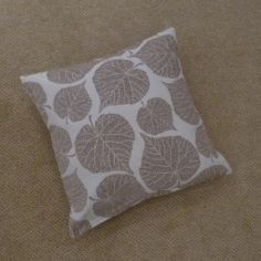 Watson Leaf Cushion Cover - Natural