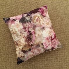 Peony Floral Cushion Cover - Multi