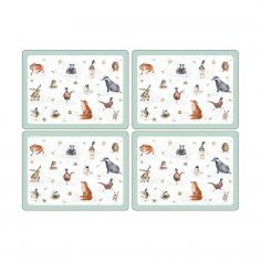 Pimpernel Wrendale Small Placemats Set of Four