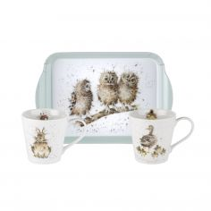 Pimpernel Wrendale Mug and Tray Set
