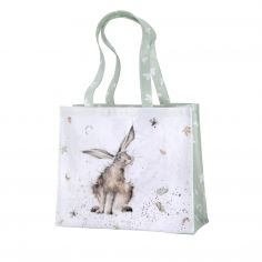Pimpernel Wrendale Large PVC Coated Shopping Bag - Hare Raising