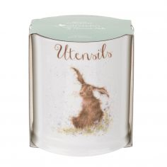 Wrendale Hare Design Utensil Jar