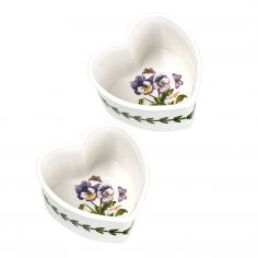 Botanic Garden Heart Ramekin Set of Two