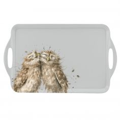 Wrendale Large Handled Tray - Owl