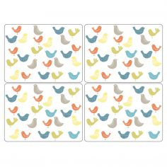 Catherine Lansfield Scandi Birds Large Placemats Set of Four