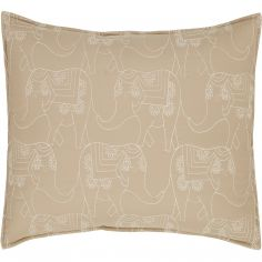 Catherine Lansfield Parading Elephant Pair of Pillowshams