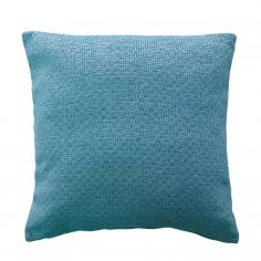 Rex Chenille Cushion Cover - Teal Blue