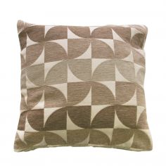 Windmill Geometric Cushion Cover - Natural