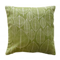 Kirkton Leaf Cushion Cover - Green