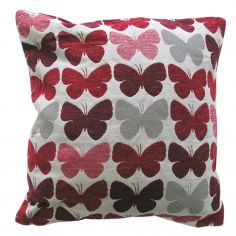 Graze Butterfly Cushion Cover - Red