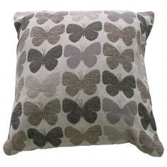 Graze Butterfly Cushion Cover - Grey