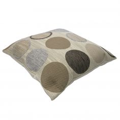 Cortez Chenille Circle Cushion Cover - Natural