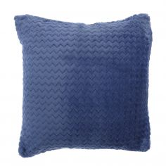 Chevron Stripe Two-Pack Cushion Covers - Blue