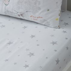 Billy Bunny Tea Party Stars Fitted Sheet - Blue Multi