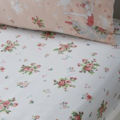 Sabrina Ballerina Floral Fitted Sheet - Multi