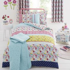 Joy Floral Duvet Cover Set - Multi