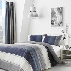 Betley Stripe Duvet Cover Set - Blue & Multi