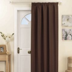 Kent Thermal Blackout Tape Top Door Curtain