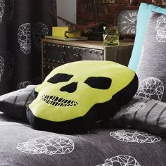 Catherine Lansfield Skulls Shaped Filled Cushion