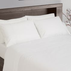 Hotel Collection 200TC 100% Cotton Housewife Pillowcases - White