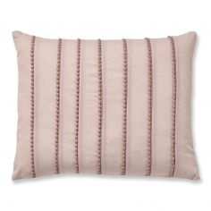 Catherine Lansfield Pom Pom Filled Cushion - Blush Pink