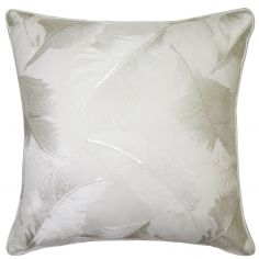 Kylie Minogue Adele Sequins Satin Filled Cushion - Oyster Cream