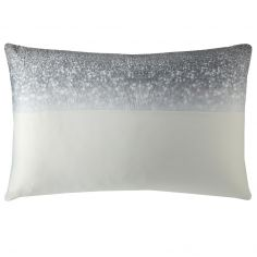 Kylie Minogue Gia Quilted Velvet Housewife Pillowcase - Ombre Grey