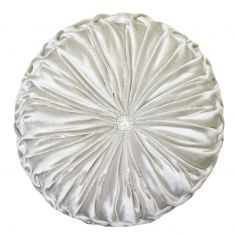 Kylie Minogue Riva Filled Round Cushion - Oyster Cream