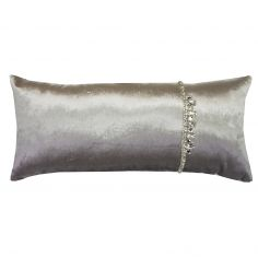 Kylie Minogue Ophelia Sequins Filled Cushion - Dove Grey