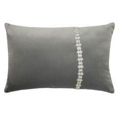 Kylie Minogue Lanie Sequin Filled Cushion - Silver Grey