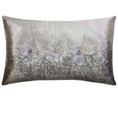 Kylie Minogue Glitter Fade Housewife Pillowcase - Silver Grey