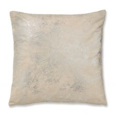 Catherine Lansfield Foil Cushion Cover - Gold