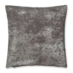 Catherine Lansfield Foil Cushion Cover - Silver