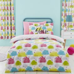 Catherine Lansfield Clouds Kids Duvet Cover Set - Multi