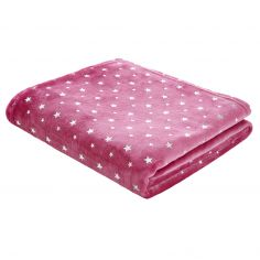Catherine Lansfield Star Throw - Pink