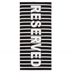 Catherine Lansfield Reserved Beach Towel - Multi