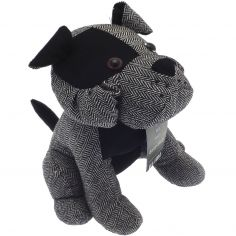 Spike Dog Door Stop - Black Grey