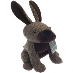 Henry Hare Door Stop - Brown