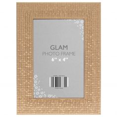 Metallic Look Glam Photo Frame - Copper