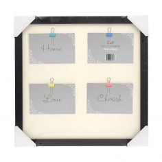 Clip Photo Frame - Black