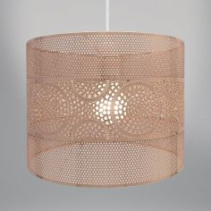 Metal Light Fitting - Copper