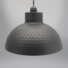Dome Light Fitting - Graphite Grey