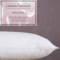 Luxury Duck Down Surround Pillow