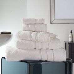 Hotel Quality Opulence 100% Cotton 800gsm Bathroom Towel - Vanilla Cream